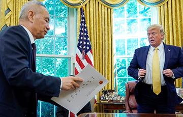 Китай начал выполнять условия по торговой сделке с США