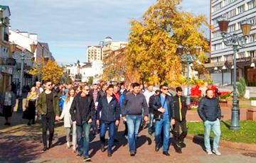 Брестчане на площади возмутились из-за «дела» Марии Галалюк
