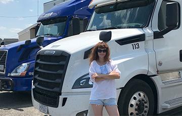 Белоруска в США: Водители траков зарабатывают по $1,5 тысячи в неделю