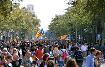 У Барселоне блакуюць дарогі і абвясцілі народную мабілізацыю