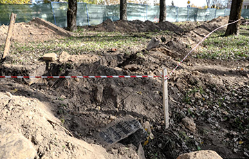 'This Is Crime': Workers Unearth Jewish Cemetery In Minsk City Center
