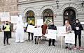 "Belarusians Of Sweden Held Picket Against Name ""Belorussia"""