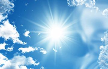 До +25°С ожидается в Беларуси в среду
