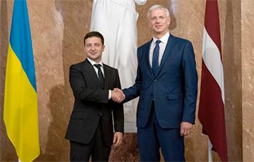 Латвія падтрымала Украіну ў пытаннях «Паўночнай плыні - 2»
