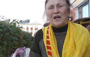 Беларуская пенсіянерка напалохала чыноўнікаў