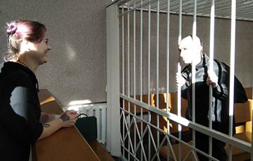 Дмитрий Полиенко сделал предложение активистке Анастасии Гусевой прямо в зале суда