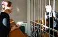 Дзмітрый Паліенка зрабіў прапанову актывістцы Настассі Гусевай проста ў зале суда