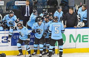 Менскае «Дынама» саступіла ўсе матчы сезона КХЛ на шырокіх і вузкіх пляцоўках