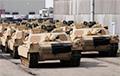 У Літву прыбылі амерыканскія танкі і баявыя машыны пяхоты
