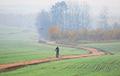 Фотофакт: Туманы окутали Минск и окрестности