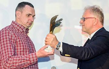 Алег Сянцоў атрымаў узнагароду Польскай кінаакадэміі