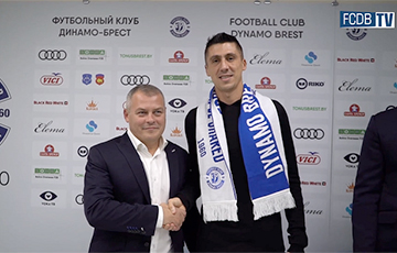 Брестское «Динамо» подписало украинского защитника Евгения Хачериди