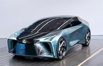 Lexus паказаў электрамабіль будучыні