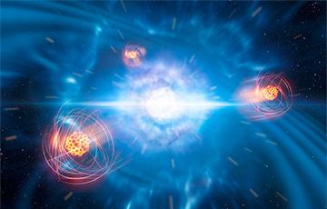 Астрономы увидели рождение стронция в космосе