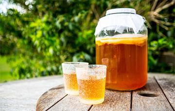 В минском универсаме «Центральный» продают напиток из чайного гриба