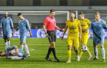 Брестское «Динамо» выразило протест против судейства в матче с «Шахтером»