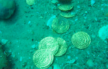 У берегов Флориды нашли клад стоимостью более миллиона долларов