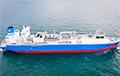 Судна «Газпрома» для газіфікацыі Калінінграда сплыло ў ЗША