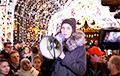 «Еўрапейская Беларусь» апублікавала яркія фота з сустрэчы на плошчы Свабоды