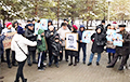 Жители Нур-Султана вышли на митинг за реформу политической системы