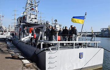 Украинские ВМС испытали прибывшие из США катера Island