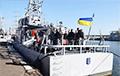 Украінскія ВМС выпрабавалі катэры Island, якія прыбылі з ЗША