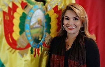 Жанін Аньес: Настойваю на мірнай і дэмакратычнай перадачы ўлады ў Балівіі