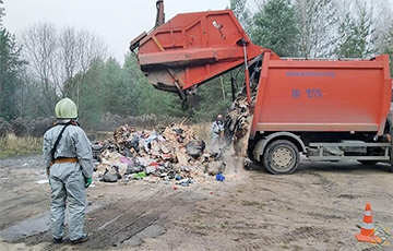 Garbage Truck With Radioactive Iodine Found In Minsk