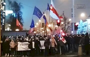 'Basta To Fake Elections and Yarmoshyna!'