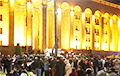 У Тбілісі трэці дзень прадаўжаюцца антыўрадавыя пратэсты