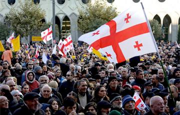 В Грузии продолжаются протесты
