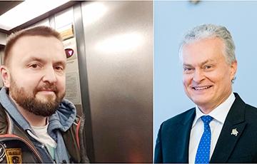 Президент Литвы отдыхал в Друскининкае без охраны и охотно общался с людьми