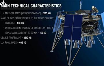 Украина представила концепт лунного модуля