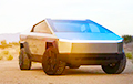 У Кіеве з'явіўся электрапікап Tesla Cybertruck