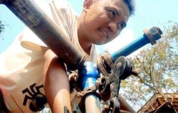 Инженер-самоучка построил вертолет по видеоурокам