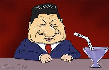 Запуск нового газопровода Россией высмеяли карикатурой