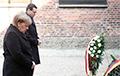 Ангела Меркель впервые посетила Аушвиц
