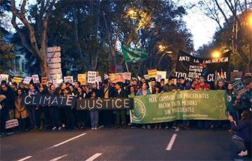 В Мадриде прошел полумиллионный Марш за климат