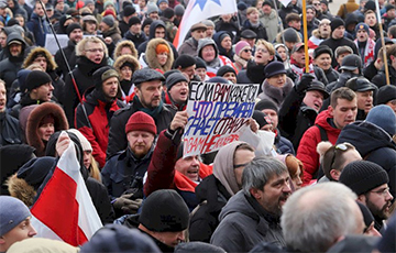 Акцыя за незалежнасць прадоўжыцца сёння, а 12:00, на Кастрычніцкай плошчы