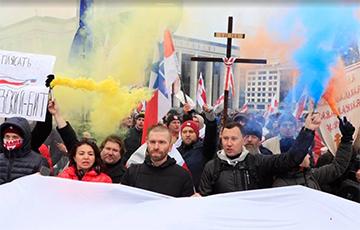 Фоторепортаж: Как белорусы вышли на защиту независимости