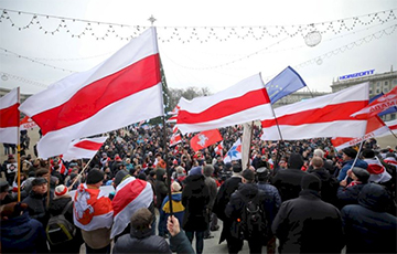 Large Photo Report: Belarusians Protested Against Integration