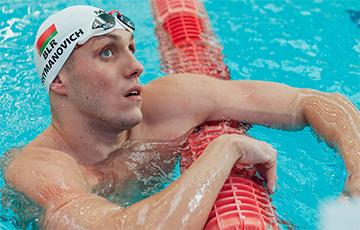 Шиманович признан лучшим европейским пловцом в 2020-м году
