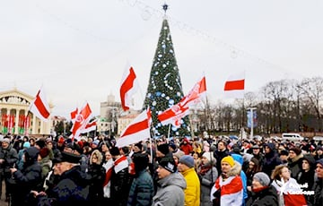 Action In Support Of Belarusian Independence Continues In Minsk