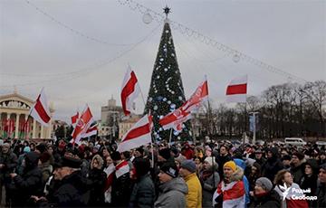 «Секретные протоколы Путина и Лукашенко нелегитимны»: резолюция митинга в Минске