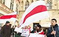 В Праге белорусы вышли на пикет против «интеграции» с Россией