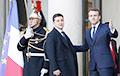 Меркель, Зеленский и Путин прибыли в Елисейский дворец