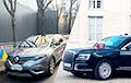 Журналисты показали авто, на которых мировые лидеры прибыли в Елисейский дворец