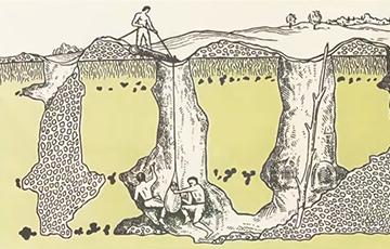 Відэафакт: Гісторыя старажытных шахт Беларусі