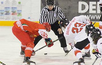 Белорусская молодежка с победы стартовала на ЧМ по хоккею