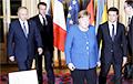 Фоторепортаж: Саммит в «нормандском формате» в Париже